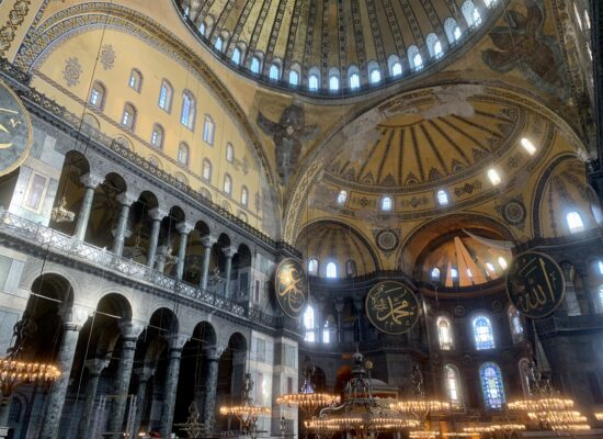 Visit Hagia Sophia in your tailor made Turkey tour