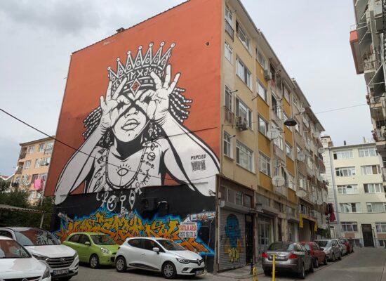 Murals in Kadikoy