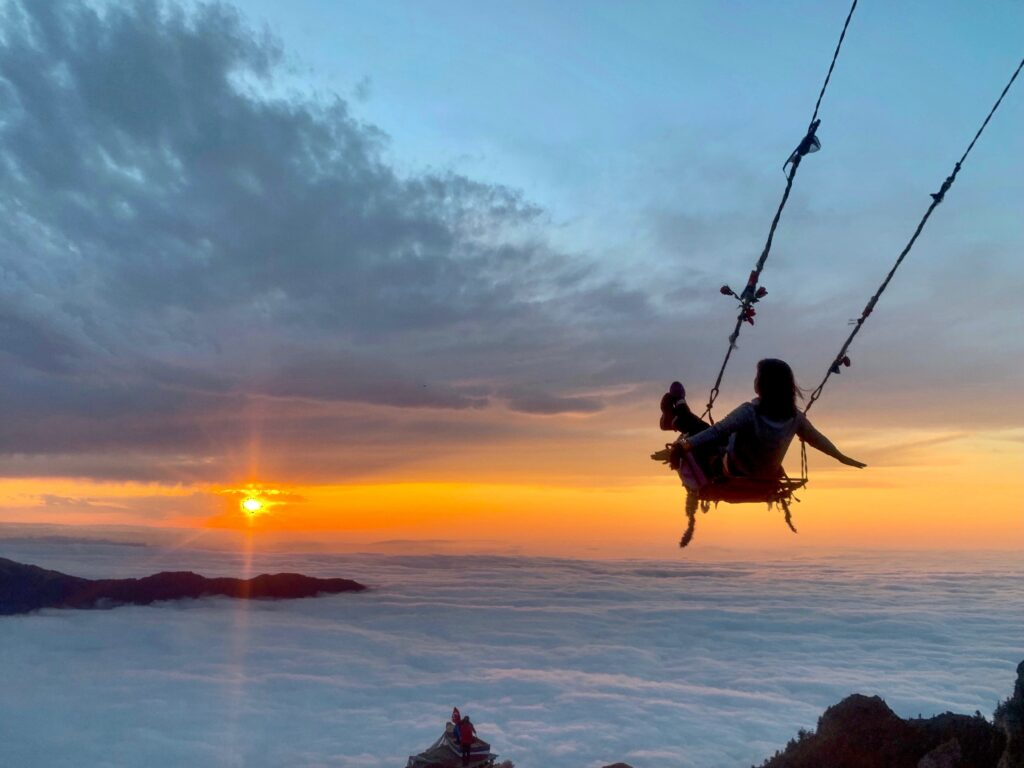 hop on a swing over the clouds in your tailor made Turkey tour
