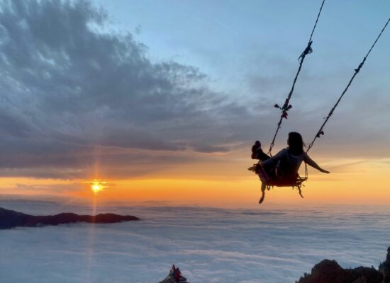 Hop on a swing over the clouds in this three day trip from Istanbul to Black Sea region