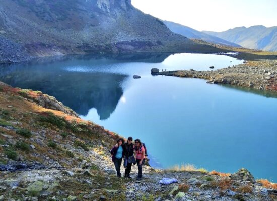 Swim in an ice lake in this three day trip from Istanbul to Black Sea region